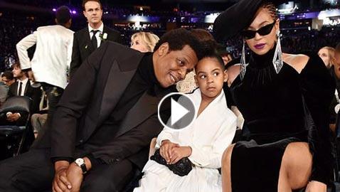 فيديو وصور.. ابنة بيونسيه تجذب الأنظار وتثبت شخصيتها القوية في حفل جرامي