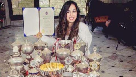 كارولين من بطلة تايكوندو عالمية لأصغر نائبة ببرلمان مصر