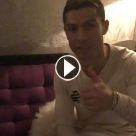 بالفيديو.. رونالدو يفاجئ جمهوره العربي بإلقائه التحية الاسلامية