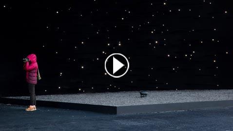 بالفيديو والصور.. المبنى الاكثر سوادا في العالم