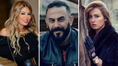 صور الفنانين العازبين الذين سيقضون عيد الحب وحدهم بدون حبيب