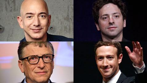 اليكم قائمة أغنى 10 أشخاص في العالم لعام 2018