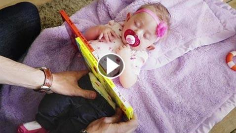 فيديو.. أب ساحر يقطع طفلته إلى نصفين ويثير الدهشة