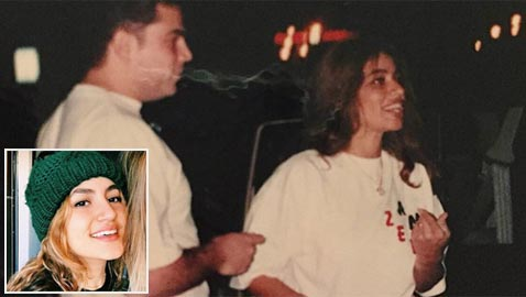 إبنة عمرو دياب تنشر صورة من ليلة زواج والديها