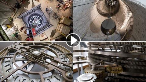 البدء ببناء ساعة تعمل لـ10 آلاف سنة