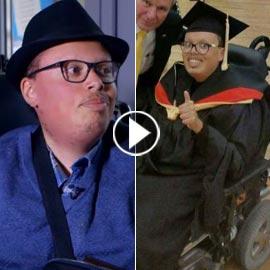 تونسي تحدى مرضه وأعطى من حوله درسًا في والشجاعة والعزيمة