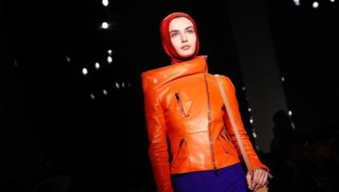 بالصور.. هذه هي قصة اطلالات الحجاب في أزياء (لانفان)