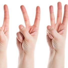 اصابعكم تكشف لكم وللآخرين عن شخصيتكم!