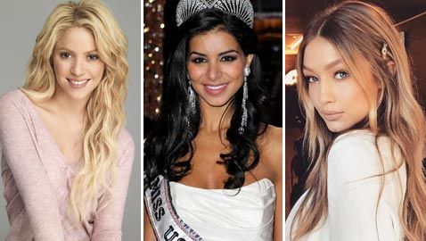نساء من أصول عربية لمعن في عالم الشهرة في الغرب