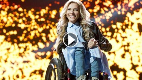 روسية من ذوي الاحتياجات الخاصة تطلق اغنيتها ليوروفيجن 2018