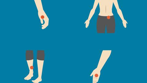 بالضغط على هذه النقاط تخلص من الأوجاع المختلفة في الجسم