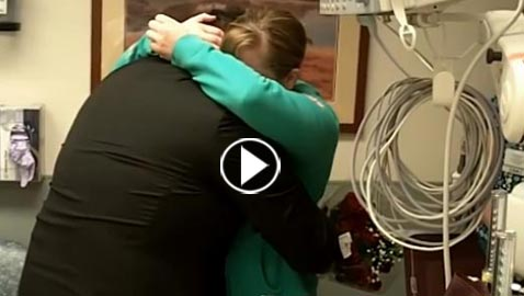 فيديو مثير: عرض الزّواج على حبيبته الممرّضة بطريقة مخيفة