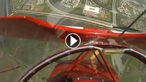 بالفيديو.. طيار ينقذ حياته بعد توقف محرك طائرته