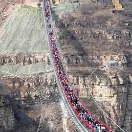 بالصور.. شاهدوا أطول جسر في العالم
