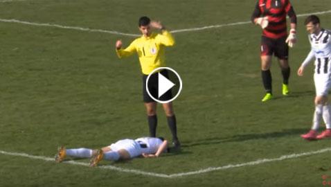 فيديو صادم: وفاة لاعب خلال المباراة بطريقة مأساوية