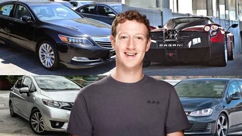 بالصور.. مجموعة سيارات مؤسس فيس بوك ، خامس أغنى اغنياء العالم