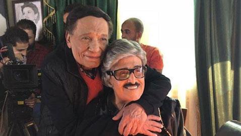 عملاقا الكوميديا عادل امام وسمير غانم معا في (عوالم خفية) في مسلسلات رمضان