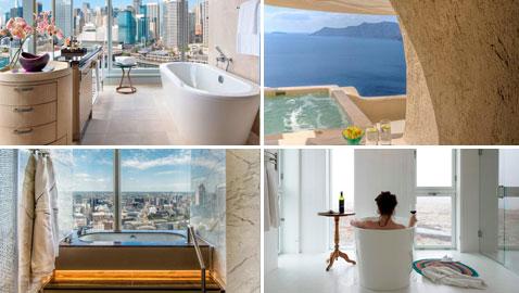صور لأجمل أحواض الاستحمام في الفنادق من حول العالم