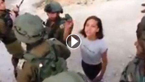 فيديو الطفلة الفلسطينية جنى جهاد تهزم جنود الاحتلال واسرائيل تصنفها (اخطر من عهد التميمي)