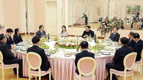 الكشف عن قائمة عشاء زعيمي الكوريتين