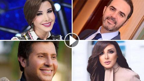 فيديو مذهل: شاهدوا اشهر نجوم الوطن العربي يغنون في صغرهم