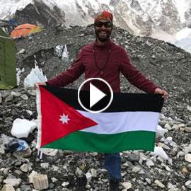 الفلسطيني جراح الحوامدة.. هزم جبل افرست برجل واحدة