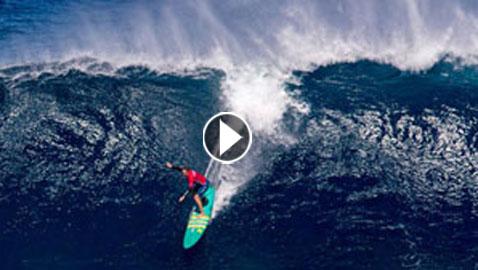 بالفيديو والصور..شاب برازيلي يركب أعلى موجة في العالم