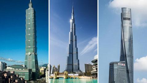 اليكم اعلى 6 ناطحات سحاب في العالم