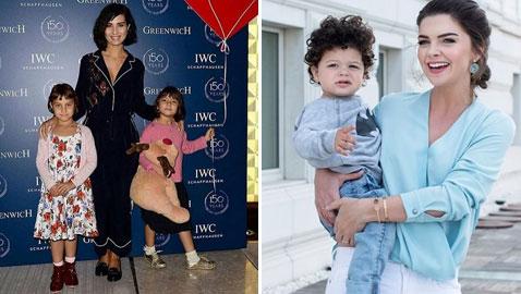 بالصور: فنانات تركيات يطبقن شعار (الأمومة قبل الفن)