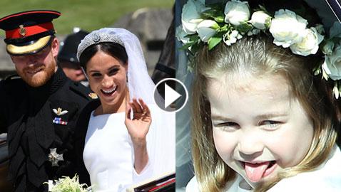 بالفيديو والصور.. مواقف ولحظات قد فاتتك في الزفاف الملكي
