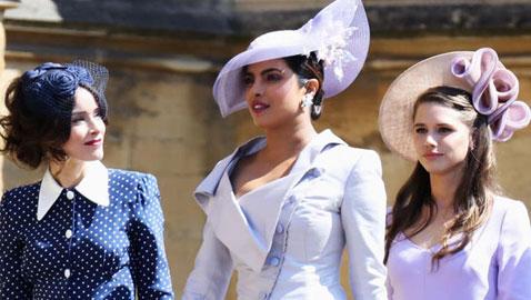 شاهدوا أجمل قبعات المشاهير خلال حفل الزفاف الملكي