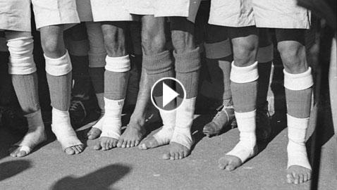 فيديو اغرب مباراة كرم قدم: الهند تطالب الفيفا  أن يلعب فريقها حفاة  ..