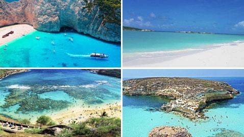 صور أنقى وأجمل الشواطئ في العالم