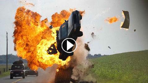 فيديو أفلام اكشن دمرت أكبر عدد من السيارات: 532 سيارة تحطمت في فيلم واحد!