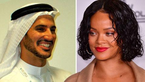 خبر صادم: انفصال ريهانا عن حبيبها البليونير السعودي! ما السبب؟