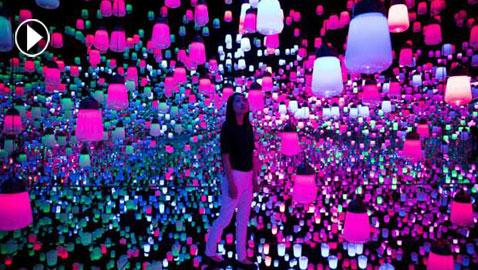 بالفيديو والصور..  متحف رقمي مدهش في اليابان يمزج الواقع بالخيال