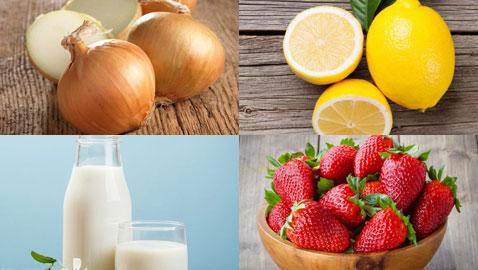 البصل والتوت والطماطم.. 9 أطعمة تقتل البكتيريا والجراثيم