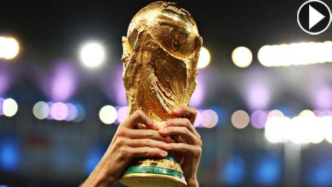 بالفيديو.. تعرفوا على كيفية صناعة كأس العالم (الفيفا)