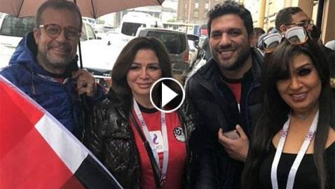 الفنانين العرب في المونديال: هل تسببوا بخسارة المنتخب المصري؟