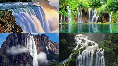 بالصور.. جولة لأجمل 9 شلالات في العالم