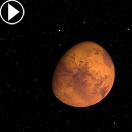 مشاهدة المريخ بالعين المجردة في الشهر المقبل