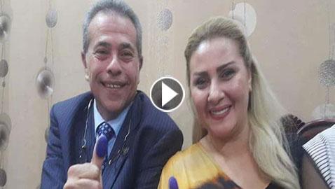 فيديو وصور: بعد خلاف بينهما توفيق عكاشة يعقد قرانه على المذيعة حياة الدرديري