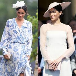 لن تصدق كلفة أزياء وأكسسوارات ميغان ماركل منذ يوم زفافها قبل شهرين!