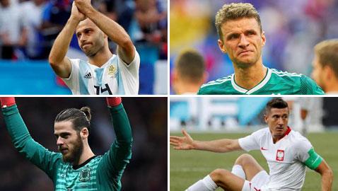 كاس العالم: قائمة اسوأ 11 لاعبا في مونديال 2018، بينهم لاعبين عرب!