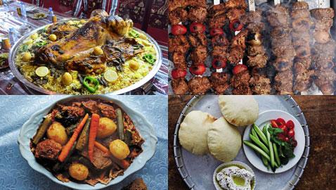 بالصور..  جولة في مطابخ الشرق الأوسط مع أشهر وأشهى المأكولات
