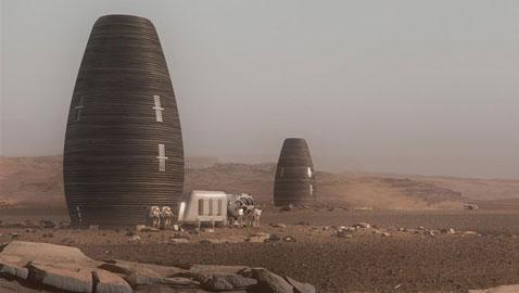 شاهدوا مساكن المستقبل على كوكب المريخ
