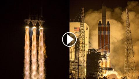 ناسا تطلق مركبة (باركر سولار بروب)  في أول رحلة إلى الشمس!