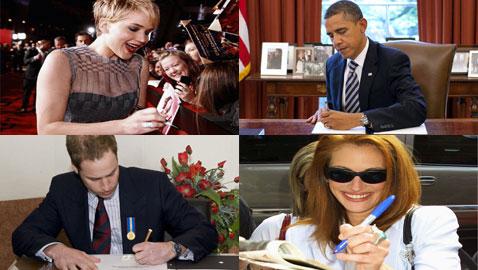 في اليوم العالمي للعسر.. إليكم مشاهير وسياسيون يستخدمون يدهم اليسرى