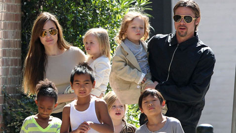 هل ستخسر أنجلينا جولي حضانة الأطفال ضد براد بيت؟!