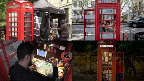 أكشاك الهواتف الحمراء في لندن تتحول لدكاكين ومكتبات وتبيع الفلافل!